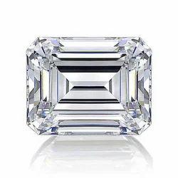 Emerald Cut White Diamond