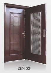 Swing Brown Double Door, for Office