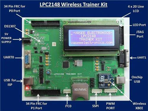 Microcontrollers - LPC1768 CORTEX-M3 Trainer Kit