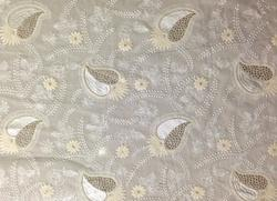 Dyeable Georgette Embroidery Fabrics