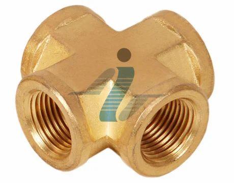 Brass Female Corss-BSP