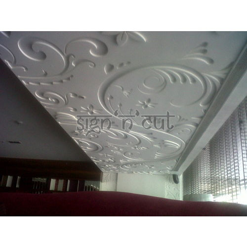 Jali 3d On Ceiling Cnc Mdf Cutting For Ceiling Manufacturer From Chandigarh