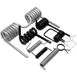 Black Iron Double Torsion Springs