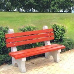 Garden Furniture Rcc Without Armrest Bench Manufacturer