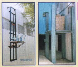 Shree jee Material Handling Lift, For Warehouses
