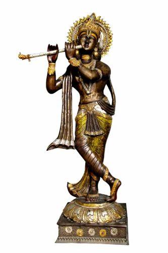 Bronze Sculpture Lord Krishna Statue Exporter From Jaipur