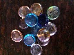 Multi Color Glass Pebbles Stone