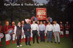 Movie Bajatey Raho Team with Master Band