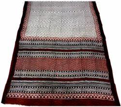 Cotton Bagru Vegetable Dye Hand Block Printed Saree
