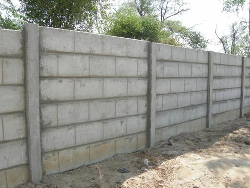 Hollow Block Compound Wall At Rs 50 Square Feet Po