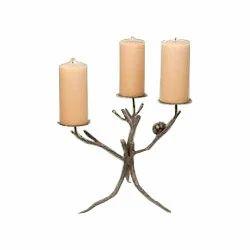 Pine Cone Candelabra