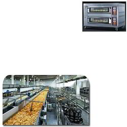 Double Deck Oven for Food Industry