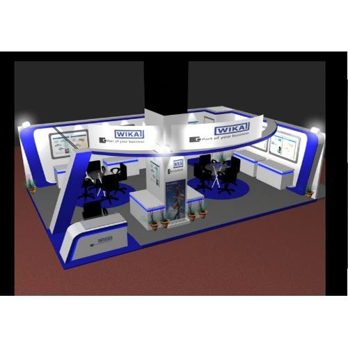 Exhibition Stall In Pune : 3 d exhibition stall design services in narayan peth pune ashwinee