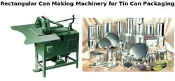 Rectangular Can Making Machinery for Tin Can Packaging
