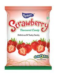 Round Rumani Strawberry Flavored Candy, Packaging Type: Packet