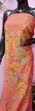 Rust Color Kashmiri Silk Suit