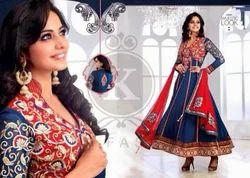 Unstitched Georgette Punjabi Suits