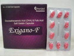 Docosahexaenoic Acid (DHA) Folic Acid Capsule