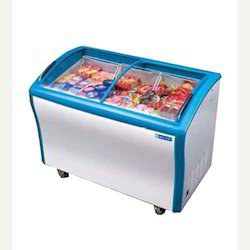 Blue Star Glass Top Freezer
