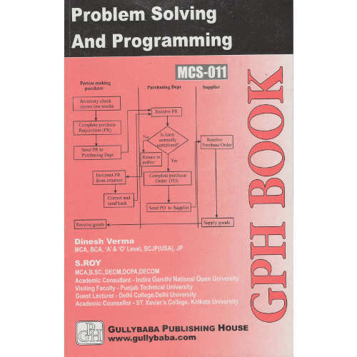 mcs 011 problem solving and programming syllabus