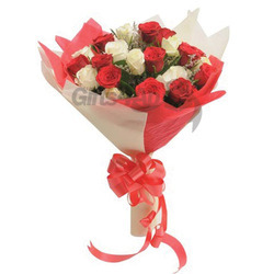 Flowers With Double Cower Wrapping