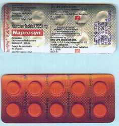 Naprosyn Naproxen Tablets