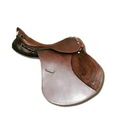 Leather Brown Show Saddle