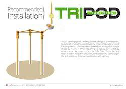 Tripod Earthing Set