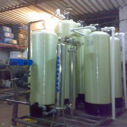 Two Bed DM Water Plants Auto FRP