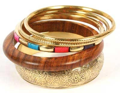 bangles indian brown fashion