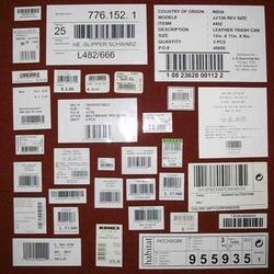 Pre Printed Self Adhesive Labels