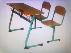 Compact Classroom Bench