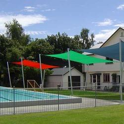 Black And Dark Green Swimming Pool Nets