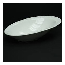 Acrylic Oval Bowl