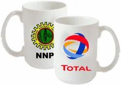 Ceramic White Custom Printed Coffee Mug