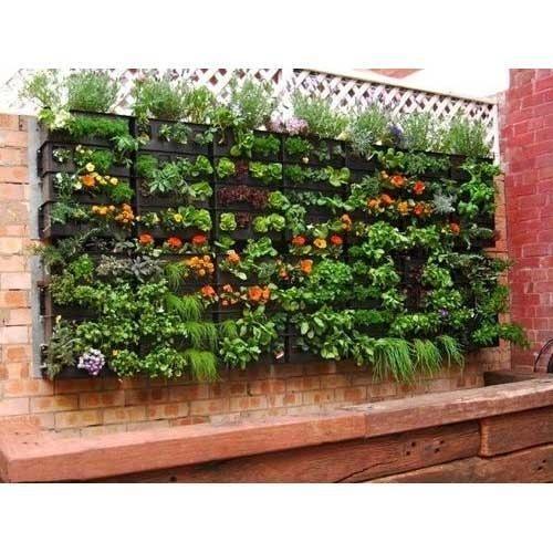 vertical garden material - Vertical Garden