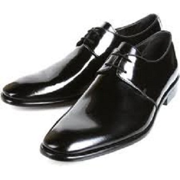 Shining Brown Leather Shoes