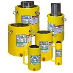 Alloy Steel Hydraulic Remote Control Jacks, Capacity: 1-10 Ton