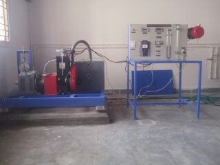 Variable Compression Ratio Petrol Engine Test Rig