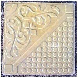 Glossy Chequerd Tiles