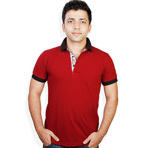 c8fedcc8b1978b Red Color T-Shirt at Rs 415 /piece(s) | Tee Shirt - Evermore ...