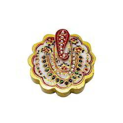 Marble Ganesha Tika Chopra