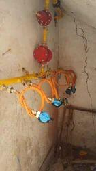 LPG Manifold Pipeline System
