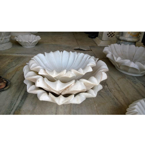 Charan Paduka Marble Urli Set For Decor Manufacturer