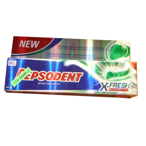 Pepsodent X Fresh Toothpastes