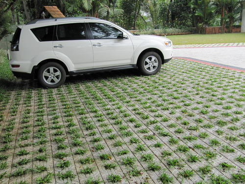 Garden Paving Blocks