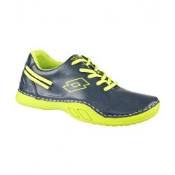 Lotto Swift Black & Green Sports Shoes