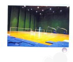 Indoor Wooden Flooring for Badminton, Basket Ball,