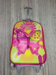 3D School Bag Trolley