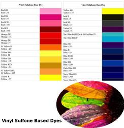 Vinyl Sulfone Based Dyes